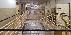 der ehemalige Haftbereich im 2. Obergeschoss © 2021 SBL Neubrandenburg