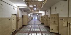 der ehemalige Haftbereich im 1. Obergeschoss © 2021 SBL Neubrandenburg