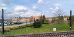 Blick auf das HWBR in Rostock-Marienehe. © 2021 Christian Hoffmann  FM M-V