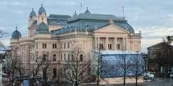 Ansicht des Mecklenburgischen Staatstheaters in Schwerin © 2021 SBL Schwerin