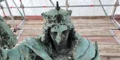 Kopf der Megalopolis © 2021 SBL Schwerin