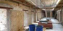 Einbau neuer Türstürze © 2021 SBLK Neubrandenburg