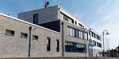 Neubau für die Polizei Sanitz © 2021 SBL Rostock