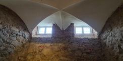 Gewölbedecke im Untergeschoss © 2021 SBL Neubrandenburg