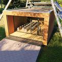 Grafik der Pavillons © 2021 matrix architektur rostock