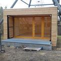 Der Pavillon in der Bauphase. © 2021 matrix architektur rostock