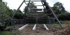 Vorheriger Zustand der Solarpyramide © 2021 matrix architektur rostock