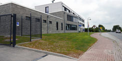 Neubau für die Polizei in Sanitz © 2021 SBL Rostock