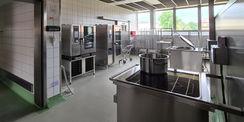 Blick in die Küche des Erdgeschosses © 2021 SBL Neubrandenburg