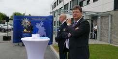 6 1 Millionen Euro flossen aus dem Landeshaushalt in das neue Dienstgebäude für die Einsatzkräfte der Polizei. © 2021 SBL Rostock