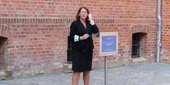 Grußwort der Justizministerin Katy Hoffmeister © 2021 SBL Greifswald