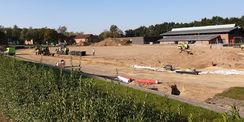 während der Entwässerungsarbeiten © 2020 Ing.-Büro KULTA GmbH