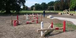 Ein Parcours diesmal nicht für Pferde. © 2021 SBL Schwerin
