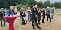Grundsteinlegung Institutsneubau Sportwissenschaft.jpg © 2021 SBL Rostock