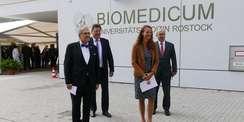 Biomedicum in Rostock feierlich übergeben © 2021 SBL Rostock