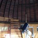 Blick in die Sternwarte  die sich auf dem Turm befindet. © 2021 Staatliches Bau- und Liegenschaftsamt Neubrandenburg