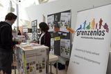 Die zwei Schwerpunkte der NGO Grenzenlos mit Sitz in Wien sind die Vermittlung von Auslandseinsetzen wie auch die interkulturelle Bildungsarbeit in Österreich. © spendeninfo.at / Hannah Hauptmann